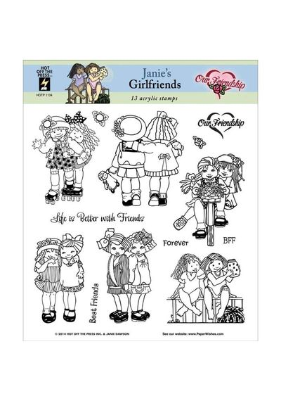 Janie's Girlfriends - Stamp
