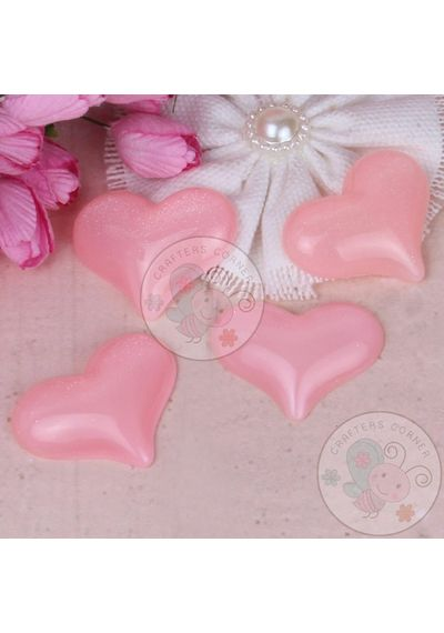 Baby Pink 3D Heart