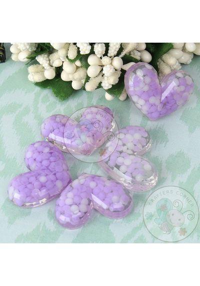 Purple Dot Heart