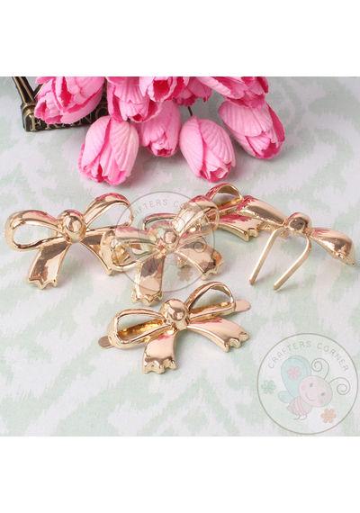 Golden Bow Brads