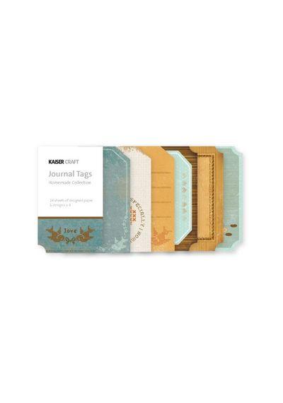 Homemade Mini Journal Tags