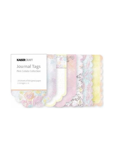Pink Gelato Journal Tags