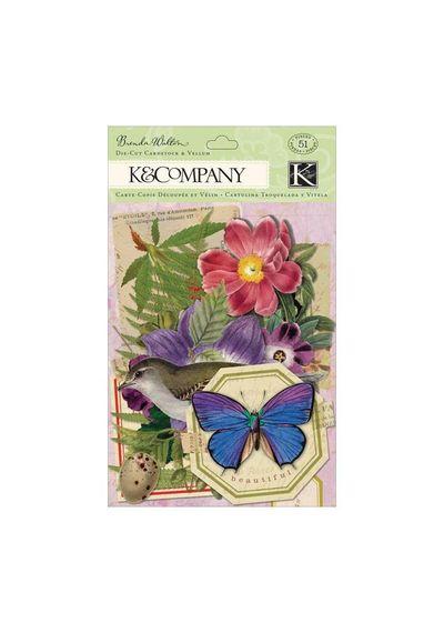 Flora & Fauna Cardstock & Vellum Die-Cuts