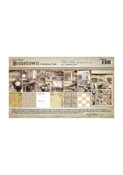 Hometown - Collection Pack 12x12