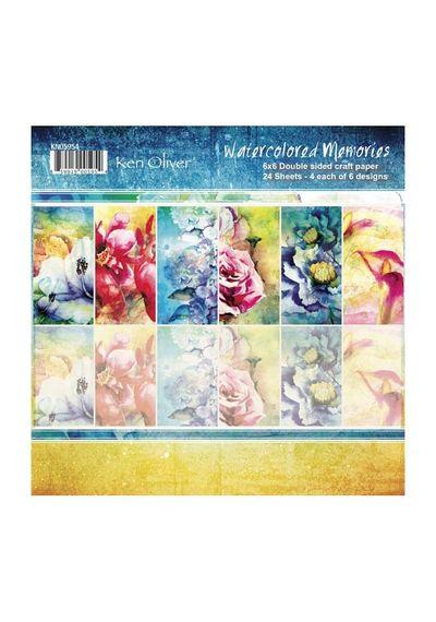 Watercolored Memories - Paper Pack - 6x6
