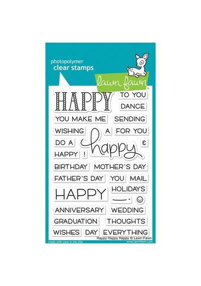 Happy Happy Happy - Stamp