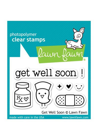 Get Well Soon - Stamp