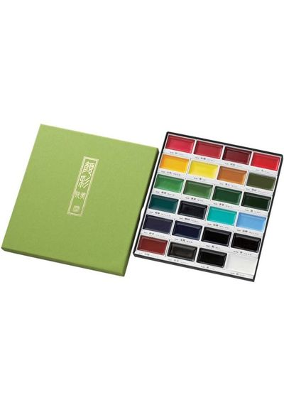 Kuretake Gansai Tambi Set - Assorted Colors