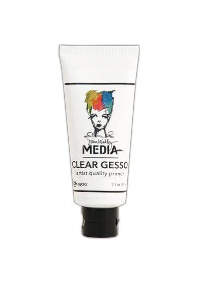 Dina Wakley Media Clear Gesso 2oz Tube
