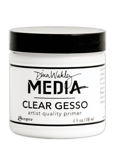 Dina Wakley Media Clear Gesso 4oz