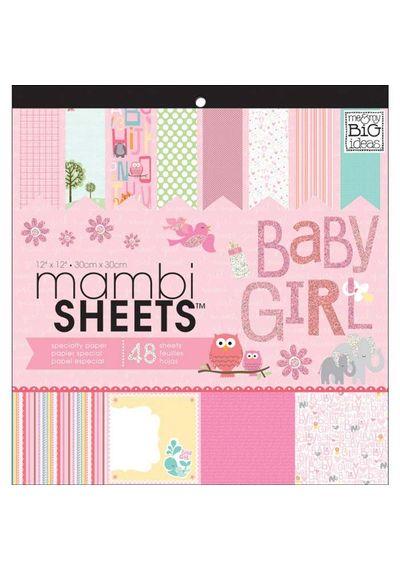 Baby Girl Animals - Paper