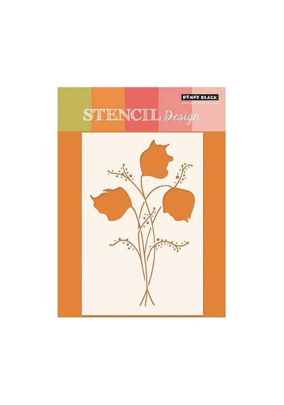 Floral Spray - Stencils