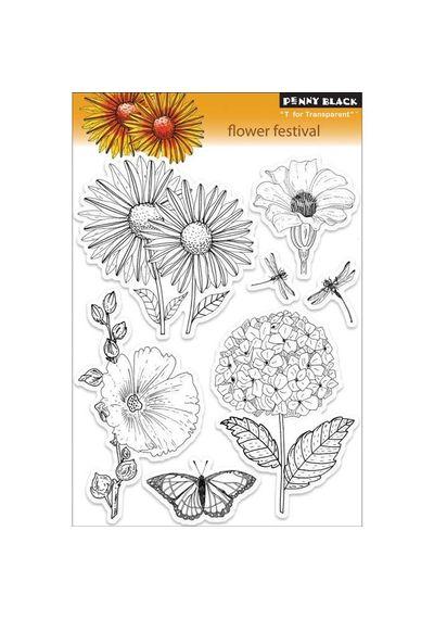 Flower Festival - Stamp
