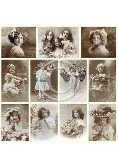 Girls - From Grandma's Attic