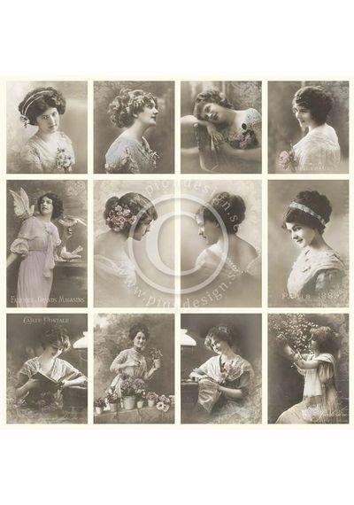 French ladies - From Grandma's Attic