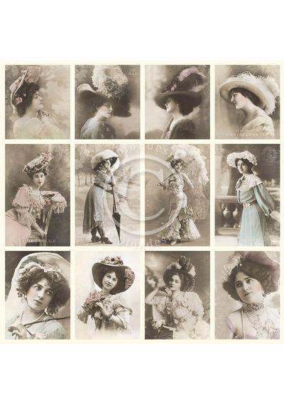 Elegant ladies - From Grandma's Attic