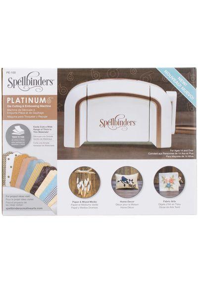 Spellbinders Platinum 6.0 Cut & Emboss Machine