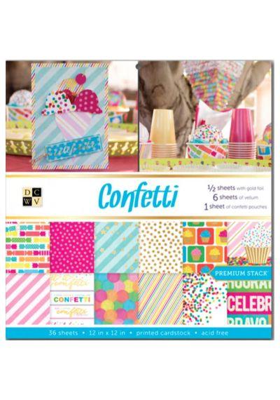Confetti Paper Stack