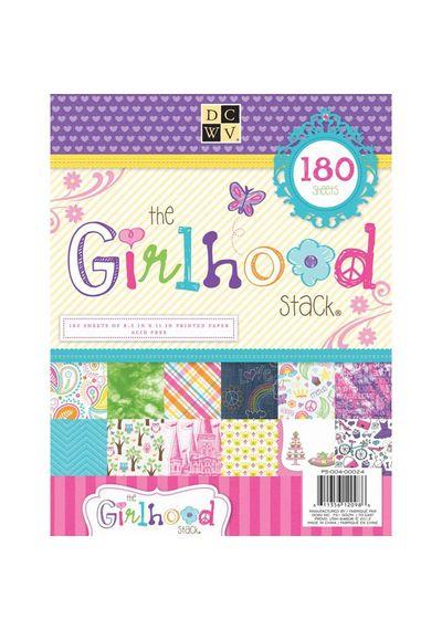 Girlhood Paper Stack 8.5