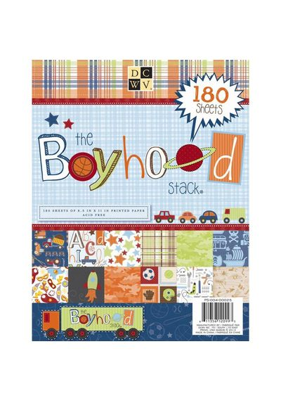Boyhood Paper Stack 8.5