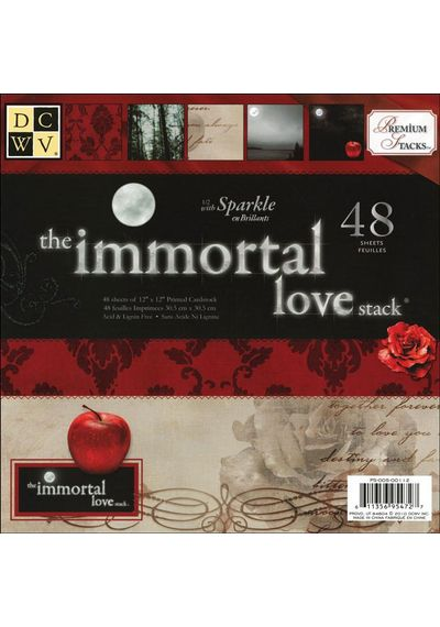 Immortal Love Paper Stack
