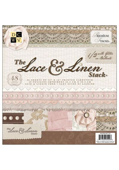 Lace & Linen Paper Stack