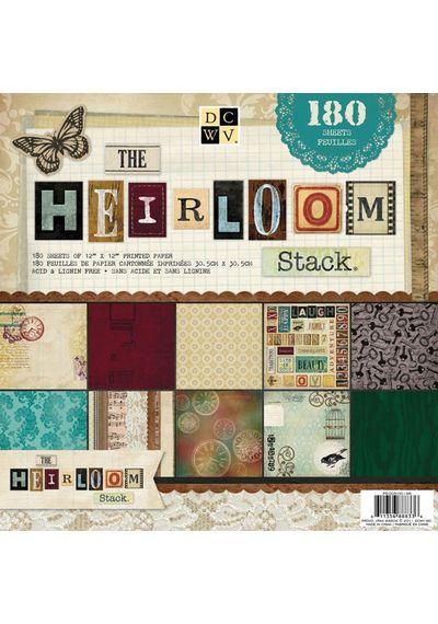 Heirloom, 60 Designs/3 Each
