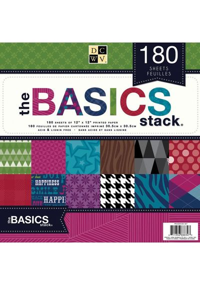 The Basics Paper Stack