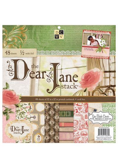 Dear Jane Paper Stack 12