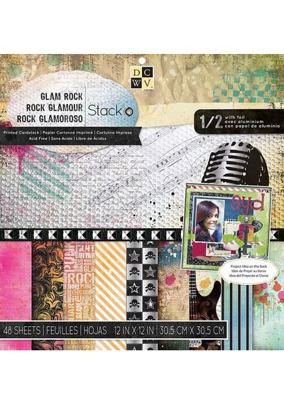 Glam Rock Paper Pad