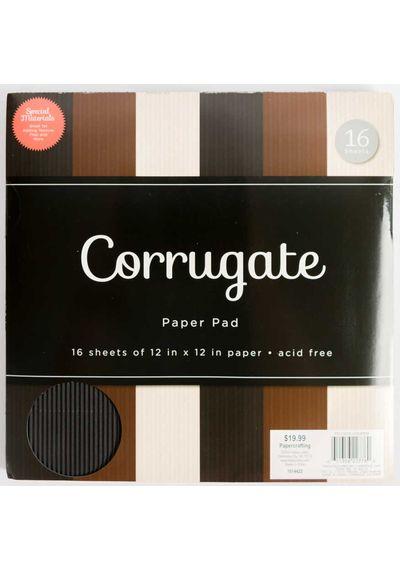 """Corrugate 12"""" X 12"""" Paper"""