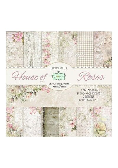 House of Roses Paper Stack