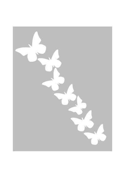 Butterfly -Foam Front Card Kit