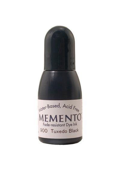 Memento Dye Re-Inker-Tuxedo Black