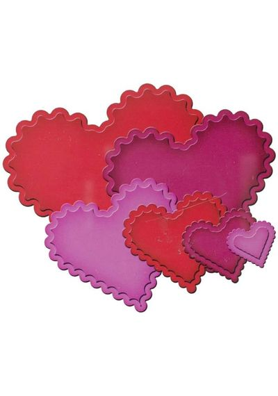 Classic Scalloped Heart - Die