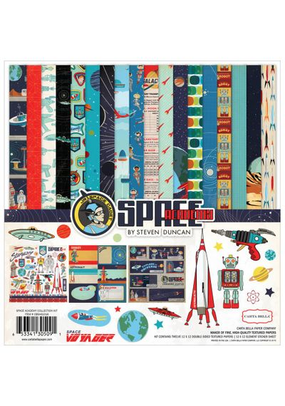 """Space Academy - Collection Kit 12""""X12"""""""