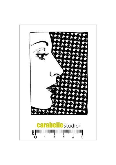 Stamp - Visage de profil