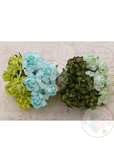 Green Tone - Twisted Roses Combo