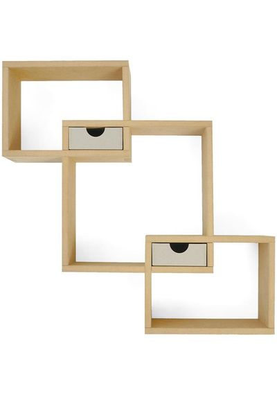 MDF Wall Box Shelf
