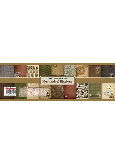 Mechanical Illusions 12x12 Paper Pad