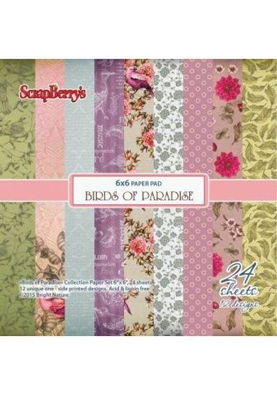 Birds Of Paradise 6x6 Paper Pad