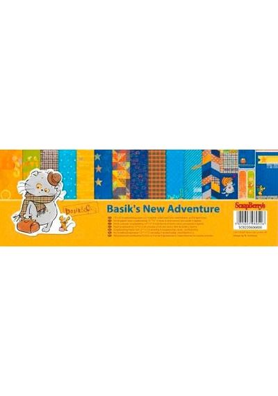 "Basik's New Adventure 12"" x 12"" Paper Pad"