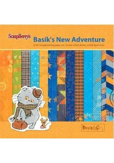 "Basik's New Adventure 6"" X 6"" Paper Pad"