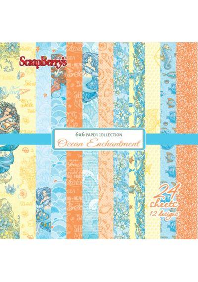 "Ocean Enchantment 6""x6"" Paper"