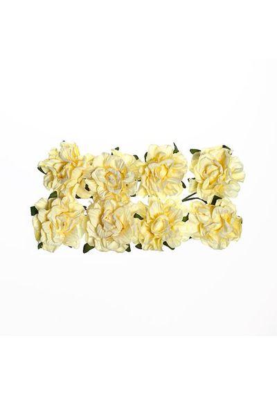 Cream White - Paper Flowers Clove