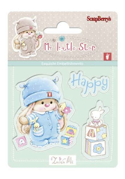 Bunny My Little Star Stamp - Bunny Birthday