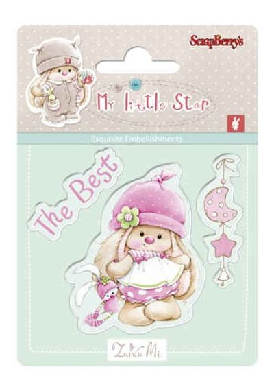 Bunny My Little Star Stamp - Best Bunny