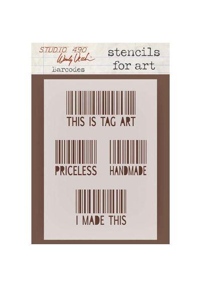 Barcodes - Stencil
