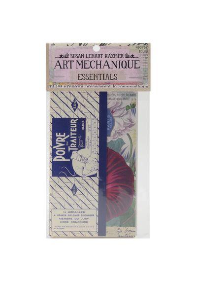 "Art Mechanique Essentials Image Pack 3.5""X5.5"" 20/Pkg"