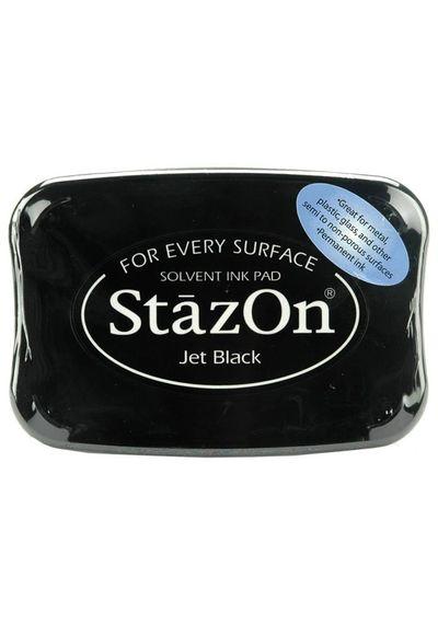 Jet Black - Staz-On Ink Pad